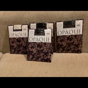 Berkshire Opaque Pantyhose NWT-group if 4